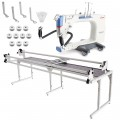 Grace Q'nique 21 Longarm Quilting Machine with Continuum 8' Quilting Frame plus Bonus Bundle