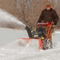Snow Thrower Attachment for DR Field & Brush Mower