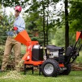 Wood Chipper Attachment for Walk-Behind DR Field & Brush Mower
